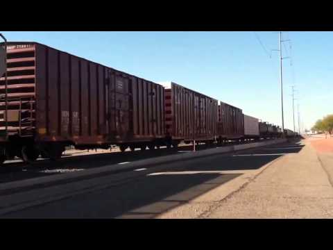 BNSF Local Mixed Freight On The Phoenix Subdivision - The Peavine