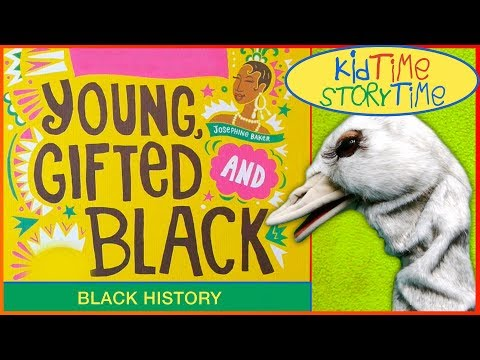 Young, Gifted and Black | Kids Books READ ALOUD! Perfect for Black History Month!