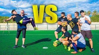 ¡WUAJORDI & PADRE VS CRAZY CREW! Epic Retos de Fútbol