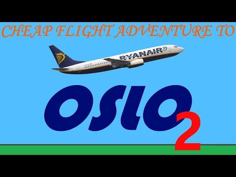 Cheap Flight Adventure To Oslo (part 2)