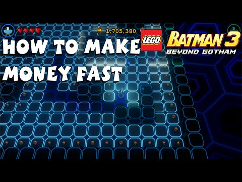 How to Make Money Fast in Lego Batman 3 Beyond Gotham
