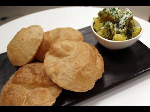 Poori Bhaaji   Simple Indian Recipes   Sanjeev Kapoor Khazana