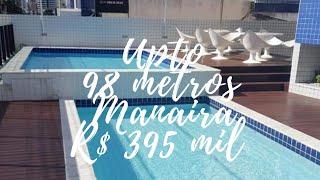 Apartamento com 98 metros, 3 quartos+Dce . Valor R$ 395.000,00