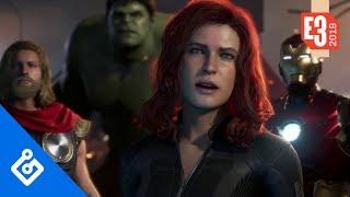 Zapętlaj Roasting The Avengers – E3 Kings | Game Informer