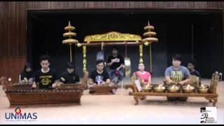 Lagu Gamelan - Medley Leleng, Puteri Santubong dan Suasana dari Gamelan Badan Budaya UNIMAS 2015