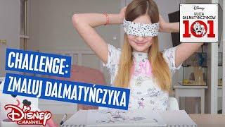 Cookie Mint w Disney Channel | Challenge:  Zmaluj Dalmatyńczyka | Ulica Dalmatyńczyków 101