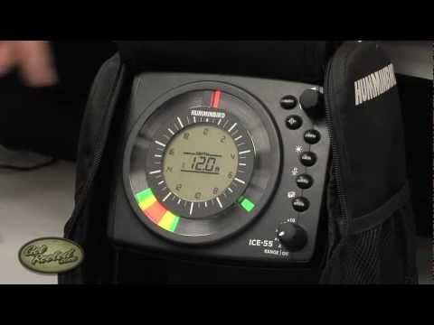 How To Read A Flasher Fish Finder - Ice Fishing - Sonar- GetReeled