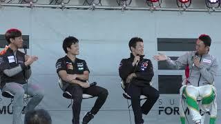 Super formula チャンピオントークショー 鈴鹿 2018.10.27