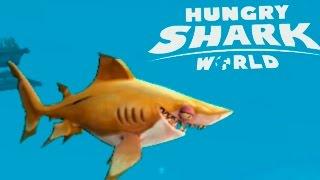 Игра про Акулу HUNGRY SHARK WORLD первый взгляд игры