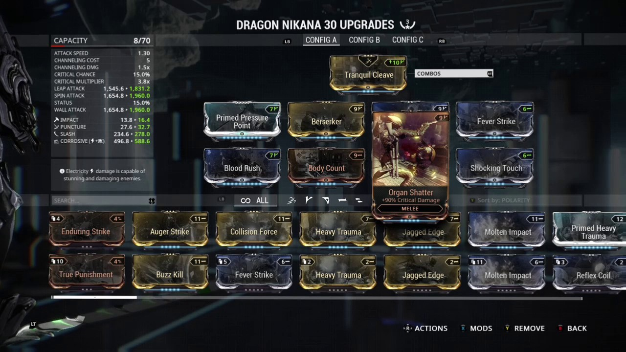 Build Dragon Nikana