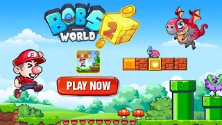 Bob's World 2 - Super Jungle Adventure - Gameplay Walkthrough Part 3 Level 21-30 World (Android,iOS)