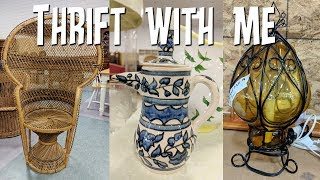 Thrift with Me-Home Decor Thrift Store Hunting!