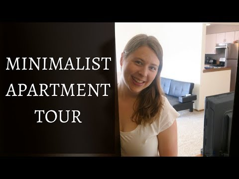 MINIMALIST APARTMENT TOUR   A First Look at our New Place!