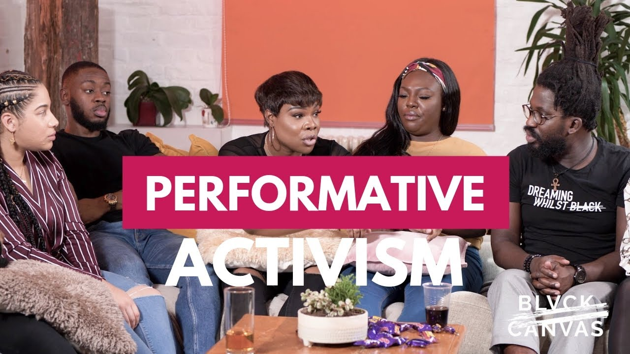 BLVCK CANVAS | PERFORMATIVE ACTIVISM | S1 EP 1