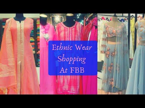 Ethnic wear Shopping At Fashion Big Bazar l ShinnyRoops