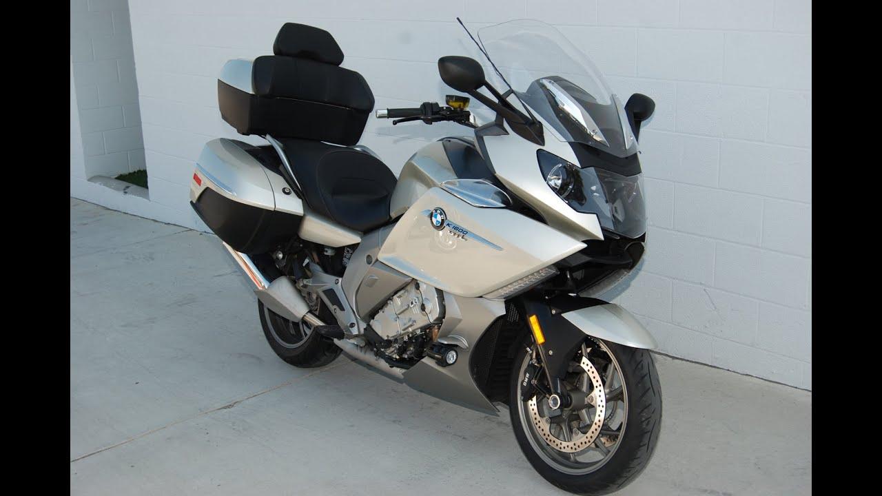 Bmw San Diego >> 2013 BMW K 1600 GTL in Mineral Silver Metallic: Quick Look & Listen - YouTube