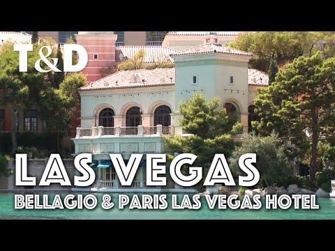 Las Vegas City Guide: Bellagio & Paris Las Vegas Hotel Casino - Travel & Discover