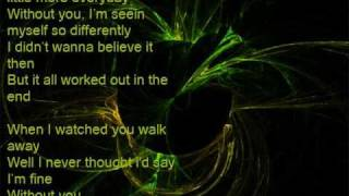 Hinder - Without You [Lyrics]