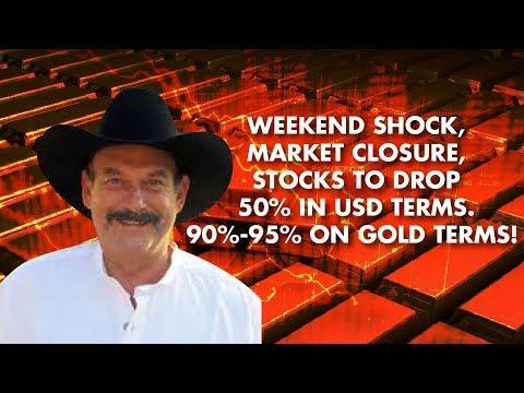 BILL HOLTER: Weekend Shock, 50% Drop, TREAD LIGHTLY!