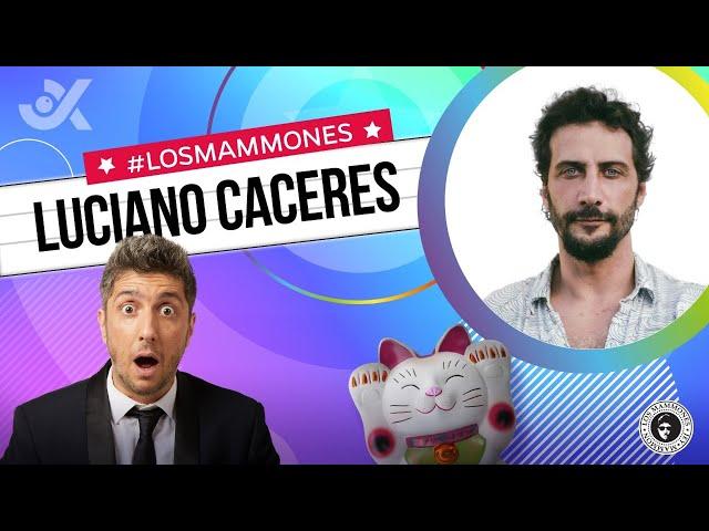 """Luciano Cáceres con Jey: """"Le gané un premio a Michael Douglas"""" - #LosMammones"""