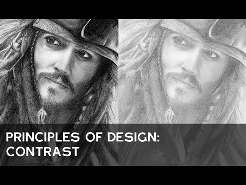 Principles Of Design Contrast : Principles of design contrast youtube