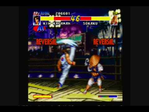 real bout fatal fury kim kaphwan playthrough 1 4 youtube youtube