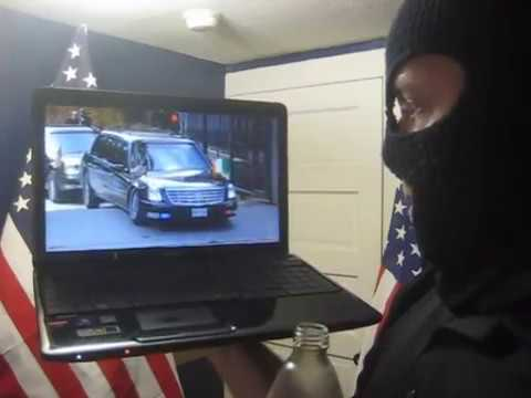 Barack Obama gets car stuck at Dublin Embassy