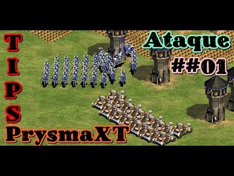Tips Guerra y Ataque #01 - Estrategias - Age of Empires II The Conquerors