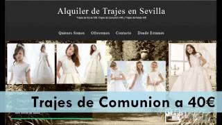 Alquiler de Trajes de Novias , Comunion y Fiesta en Sevilla