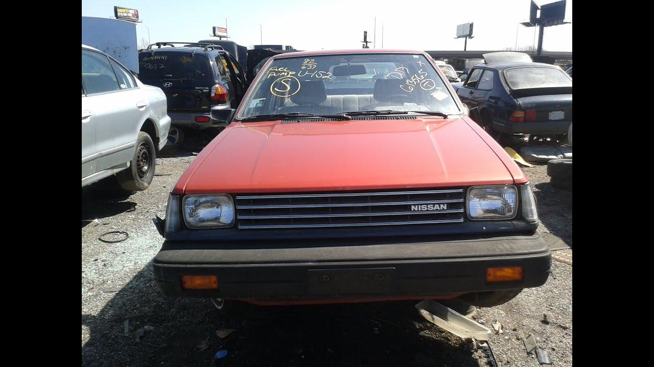 Junkyard Find 1982 Nissan Sentra  YouTube