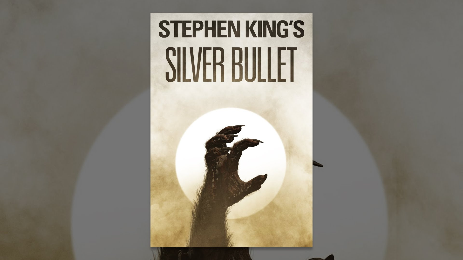 Stephen King S Silver Bullet Youtube
