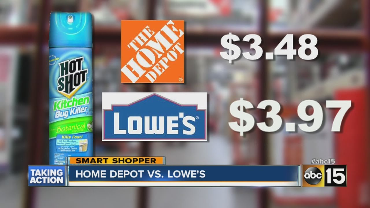 Home Depot vs. Lowe\'s - YouTube