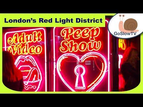 Red Light Area In London | Soho Walkabout | Walking | London | UK | Slow TV | Episode 4 (2018)