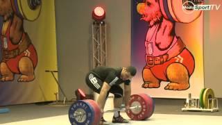 European Youth Weightlifting Championships 2014 Simon Martirosyan 215kg C&J