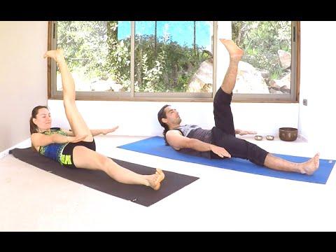 10. Yoga en casa clase completa para todos - Vinyasa en español ... c168108305b5