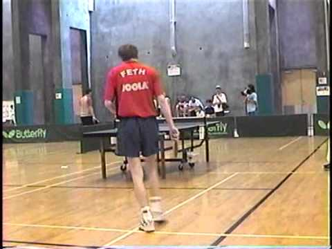 Sara Fu vs. Stefan Feth - Right Camera #2 Side - Semifinal San Diego Open