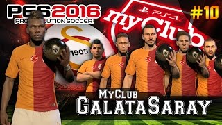 MyClub GS #10 ★ TOTY POGBA Galatasaray´da !!! | Ball Opening - UEFA CL FINAL STARS | PES 2016 | PS4