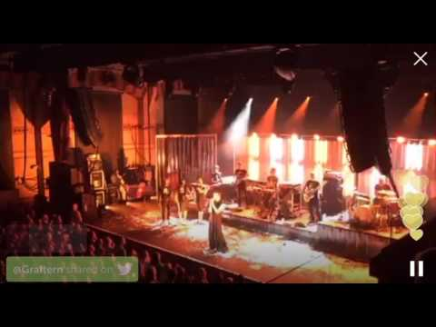 Will Young - Runaway - Live Stream Periscope at Cambridge Corn Exchange