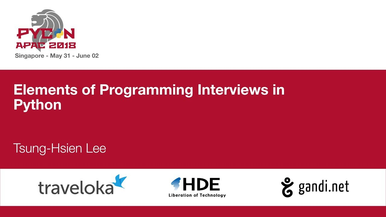 Image from Elements of Programming Interviews in Python