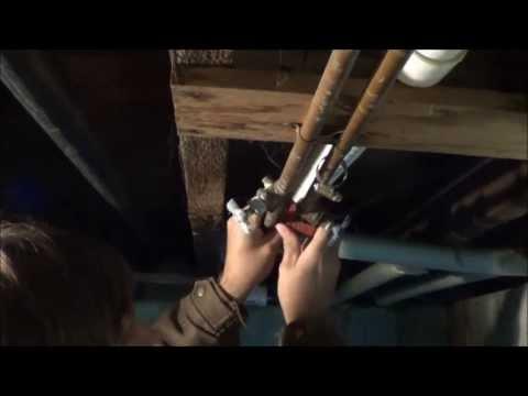 Como realizar una toma de agua en pvc hidraulico sin for Copper vs cpvc for water lines