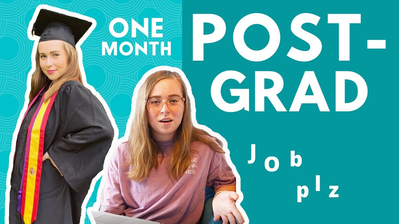 One Month Post-Grad Graphic Designer | Do I Have A Job Yet? & What I've Learned