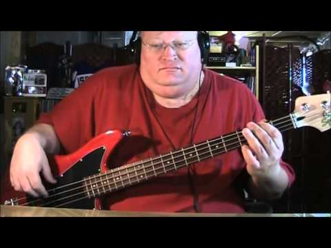 Men At Work It's A Mistake Bass Cover
