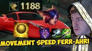 METAMANCER A TO Z - FERRAHRI Movement speed Ahri - League of Legends