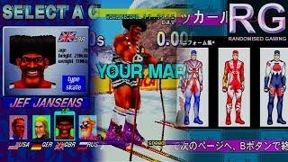 Winter Heat - Sega Saturn - Bonus gallery & Jef Jansens hidden character [HD 1080p 60fps]