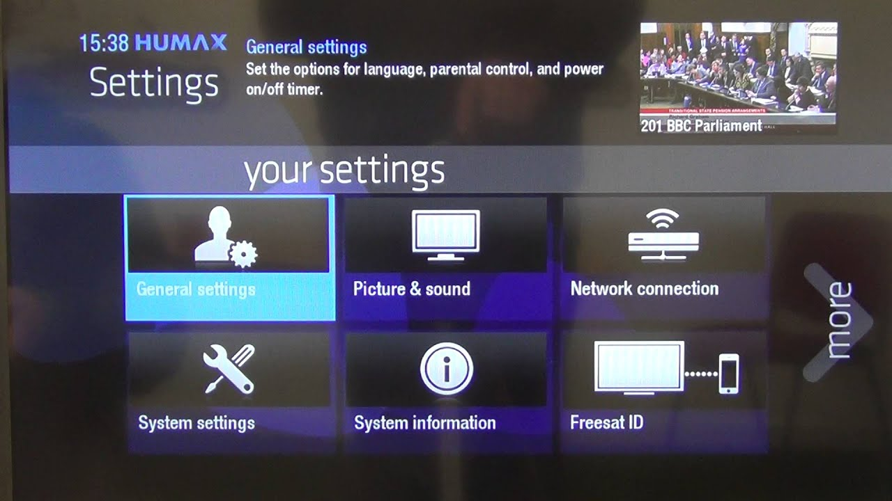 How to Perform Software Update on Humax HDR-1100S Freesat+ Box - YouTube