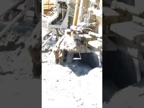 Bore well drilling in i speed water