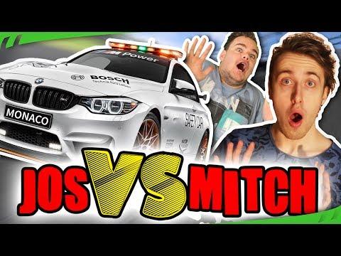 BIZARRE SAFETY CAR HERSTART! - Jos VS Mitch (Seizoen 4) - #6