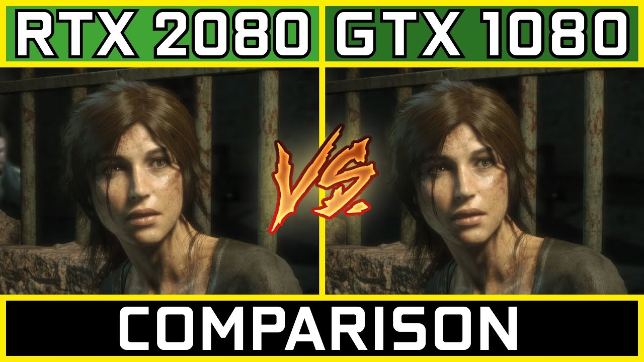 RTX 2080 vs GTX 1080 | Gaming Comparison [4K, 1440p & 1080p]