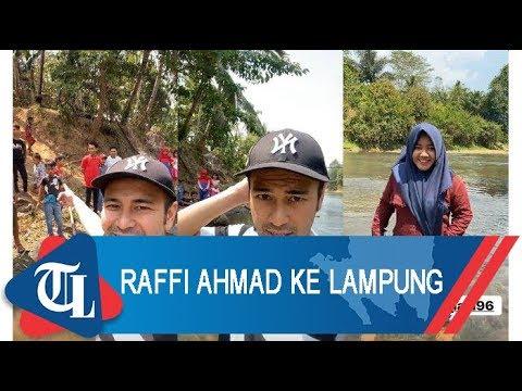 Raffi Ahmad Liburan Ke Lampung | Tribun Lampung News Video