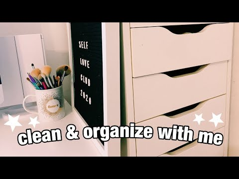 Clean My Room With Me + Declutter & Organize Makeup